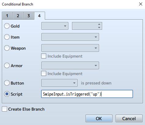Swipe Input SS