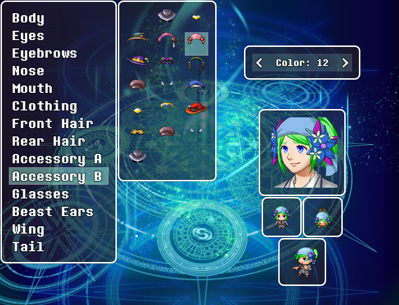 Character Creator – MV Plugin – RPG Maker MV Plugins